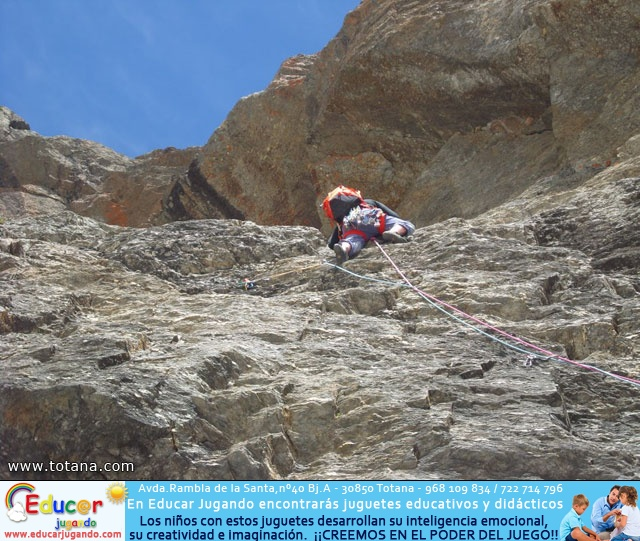 Vía Silvia, Noroeste Veleta Sierra Nevada (Julio 2014) - 33