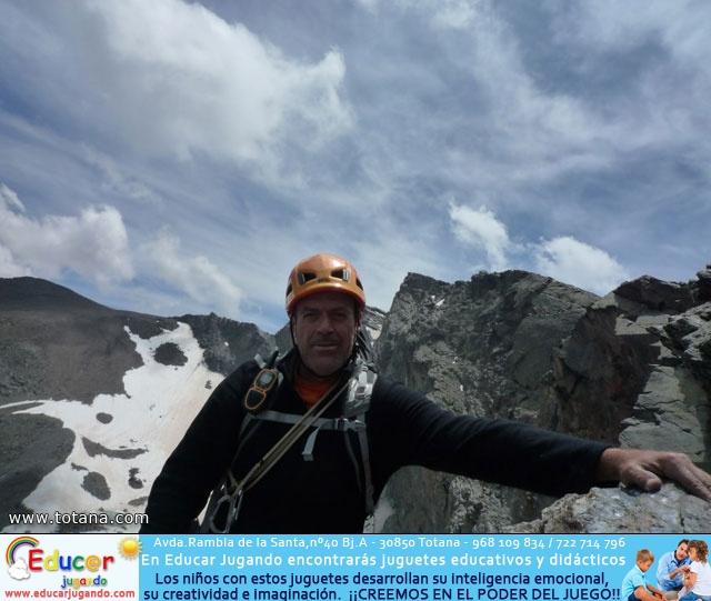 Vía Silvia, Noroeste Veleta Sierra Nevada (Julio 2014) - 86