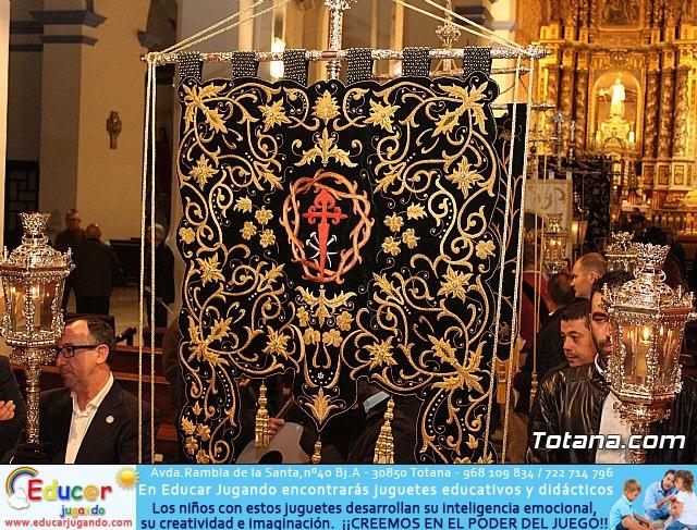 Vía Crucis de Hermandades y Cofradías - Semana Santa de Totana 2018 - 3