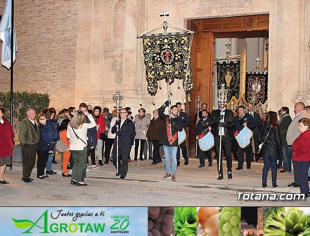 Vía Crucis de Hermandades y Cofradías - Semana Santa de Totana 2018 - 5