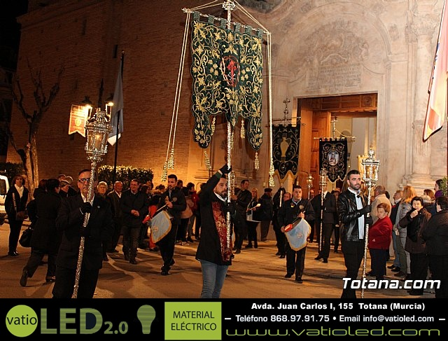 Vía Crucis de Hermandades y Cofradías - Semana Santa de Totana 2018 - 6