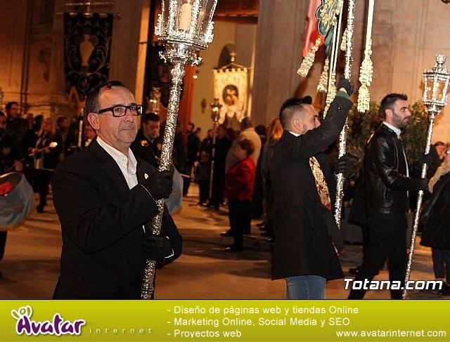 Vía Crucis de Hermandades y Cofradías - Semana Santa de Totana 2018 - 7