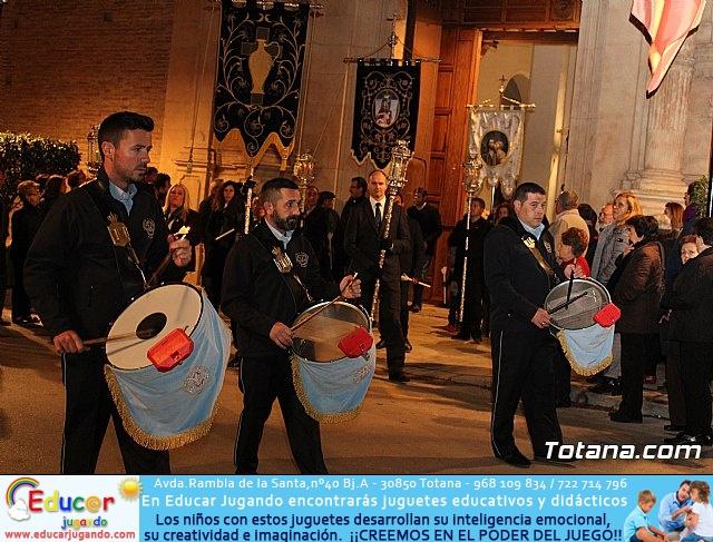 Vía Crucis de Hermandades y Cofradías - Semana Santa de Totana 2018 - 8