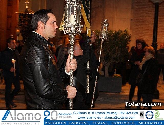 Vía Crucis de Hermandades y Cofradías - Semana Santa de Totana 2018 - 11