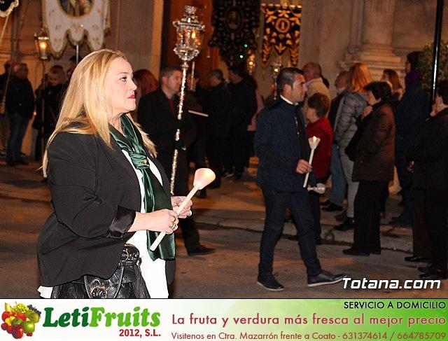 Vía Crucis de Hermandades y Cofradías - Semana Santa de Totana 2018 - 12
