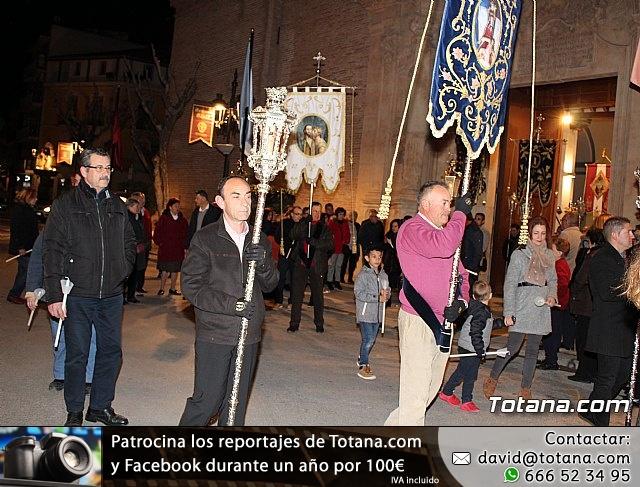 Vía Crucis de Hermandades y Cofradías - Semana Santa de Totana 2018 - 14