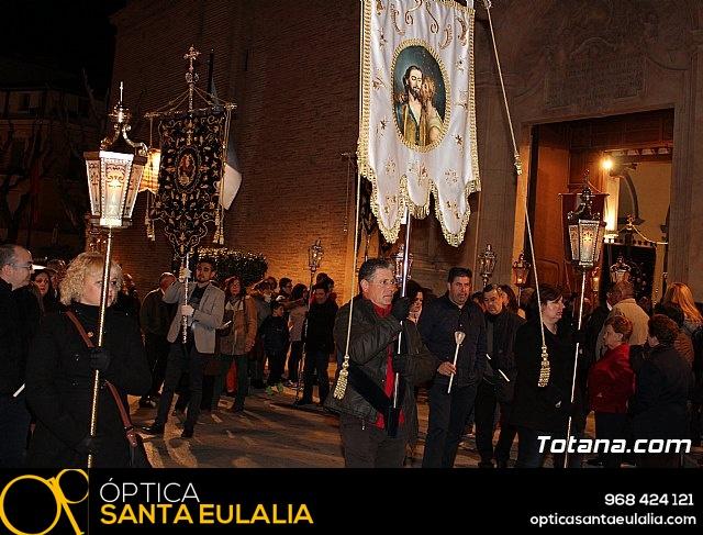 Vía Crucis de Hermandades y Cofradías - Semana Santa de Totana 2018 - 19
