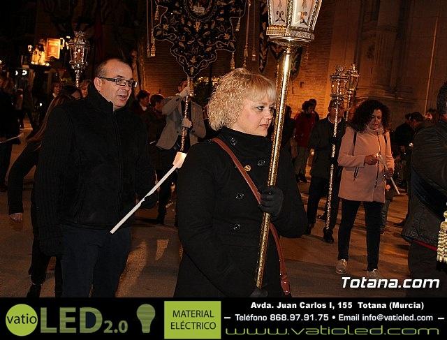 Vía Crucis de Hermandades y Cofradías - Semana Santa de Totana 2018 - 21