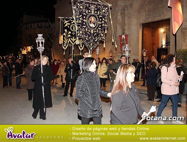 Vía Crucis de Hermandades y Cofradías - Semana Santa de Totana 2018 - 23
