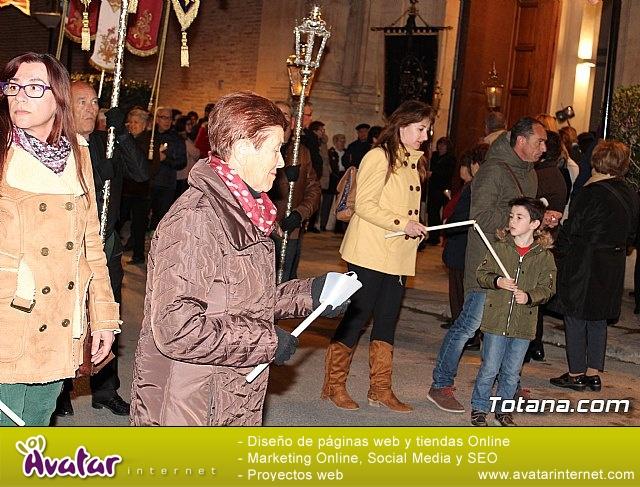 Vía Crucis de Hermandades y Cofradías - Semana Santa de Totana 2018 - 25