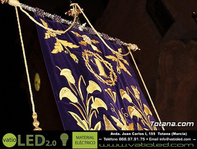 Vía Crucis de Hermandades y Cofradías - Semana Santa de Totana 2018 - 28