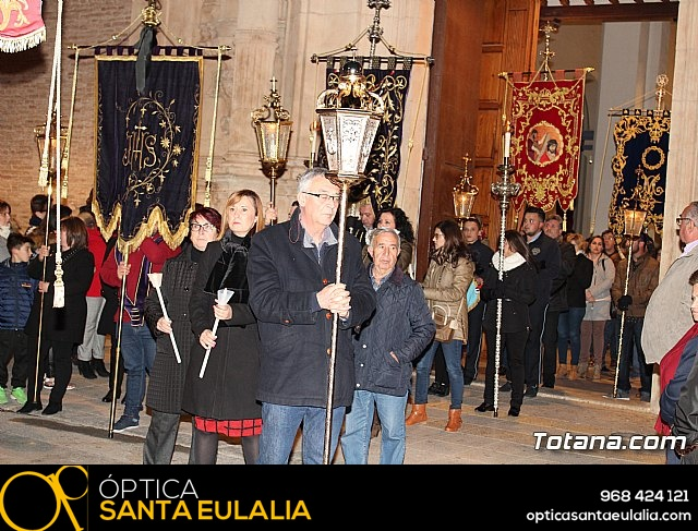 Vía Crucis de Hermandades y Cofradías - Semana Santa de Totana 2018 - 29