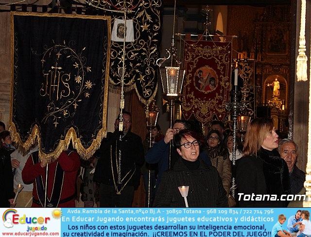 Vía Crucis de Hermandades y Cofradías - Semana Santa de Totana 2018 - 32