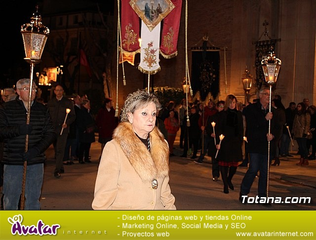 Vía Crucis de Hermandades y Cofradías - Semana Santa de Totana 2018 - 35