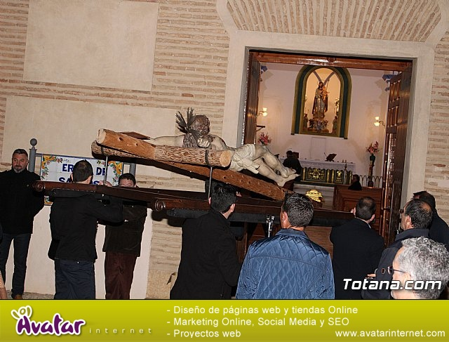Vía Crucis de Hermandades y Cofradías - Semana Santa de Totana 2018 - 159