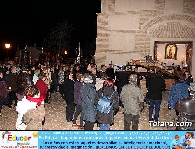 Vía Crucis de Hermandades y Cofradías - Semana Santa de Totana 2018 - 160