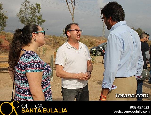 Inauguración del acondicionamiento como vía verde del trazado ferroviario Totana - Cartagena - 2
