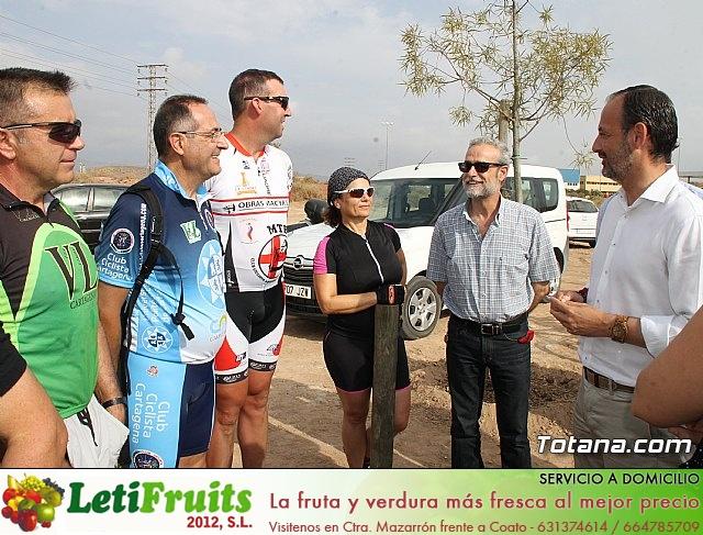 Inauguración del acondicionamiento como vía verde del trazado ferroviario Totana - Cartagena - 6