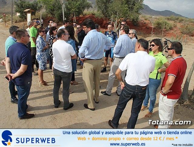 Inauguración del acondicionamiento como vía verde del trazado ferroviario Totana - Cartagena - 8