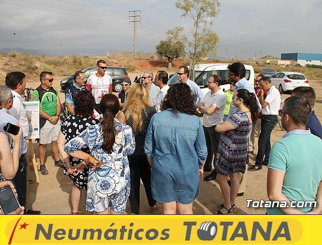 Inauguración del acondicionamiento como vía verde del trazado ferroviario Totana - Cartagena - 19