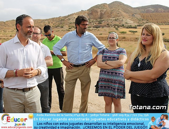 Inauguración del acondicionamiento como vía verde del trazado ferroviario Totana - Cartagena - 22