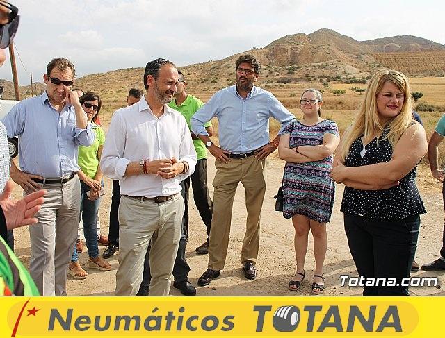 Inauguración del acondicionamiento como vía verde del trazado ferroviario Totana - Cartagena - 23