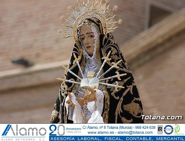 Procesión del Viernes Santo mañana - Semana Santa de Totana 2017 - 2