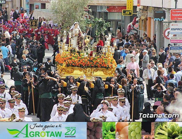 Procesión del Viernes Santo mañana - Semana Santa de Totana 2017 - 18