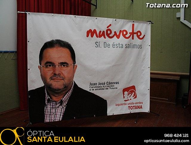 Presentación candidatura IU-Verdes Totana 2011 - 1