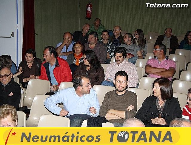Presentación candidatura IU-Verdes Totana 2011 - 4