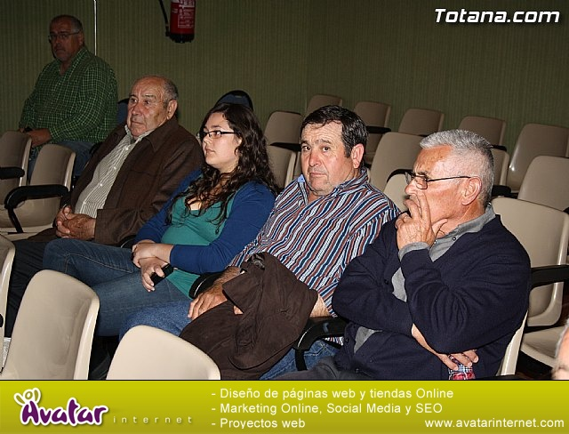 Presentación candidatura IU-Verdes Totana 2011 - 12