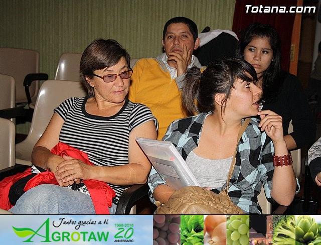 Presentación candidatura IU-Verdes Totana 2011 - 14