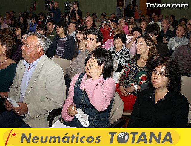 Presentación candidatura IU-Verdes Totana 2011 - 20