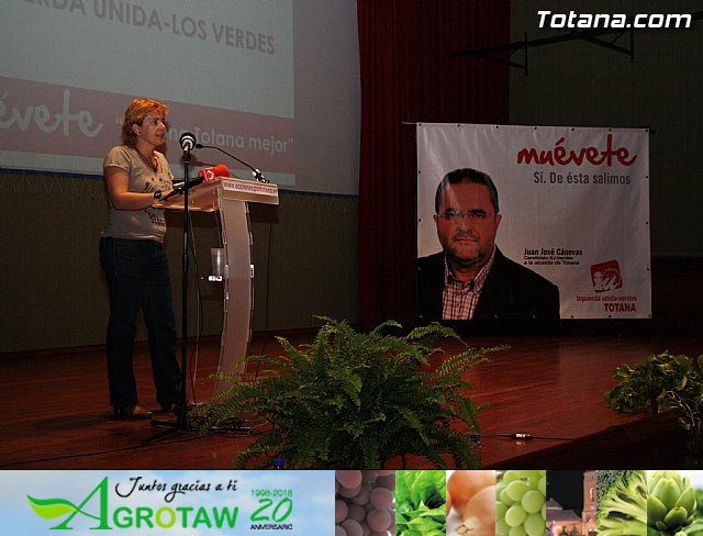 Presentación candidatura IU-Verdes Totana 2011 - 24