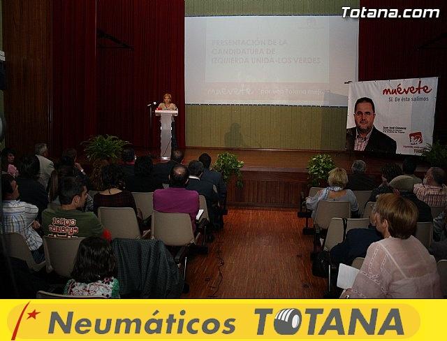 Presentación candidatura IU-Verdes Totana 2011 - 26