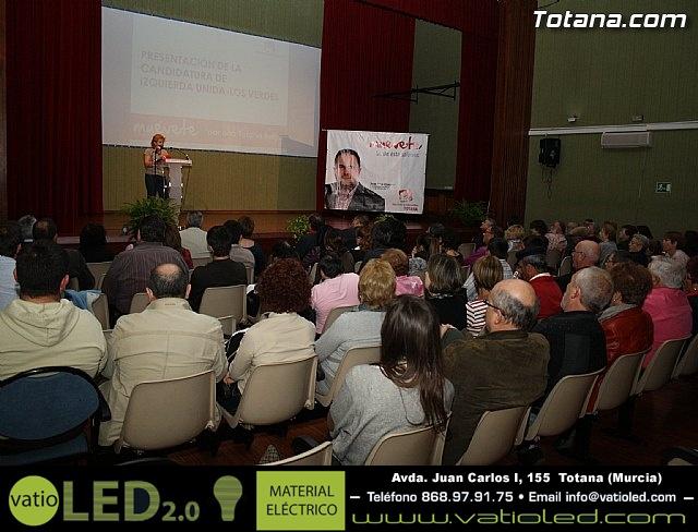 Presentación candidatura IU-Verdes Totana 2011 - 27