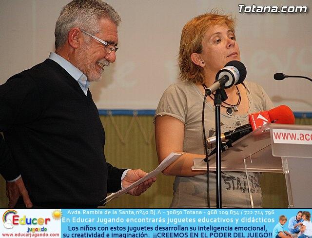 Presentación candidatura IU-Verdes Totana 2011 - 28