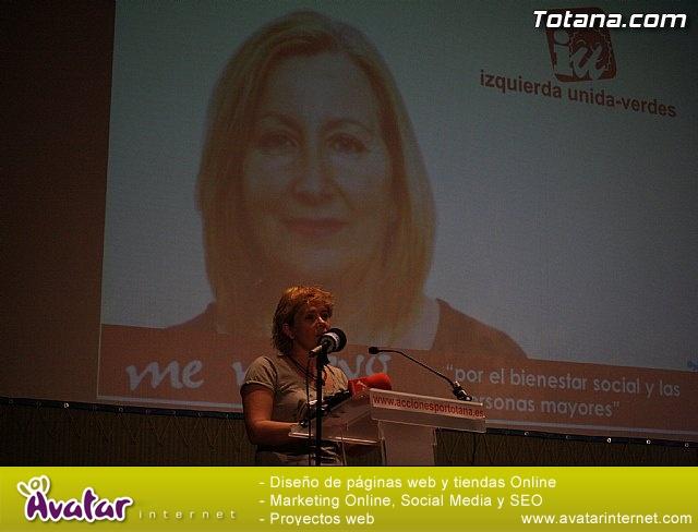 Presentación candidatura IU-Verdes Totana 2011 - 33