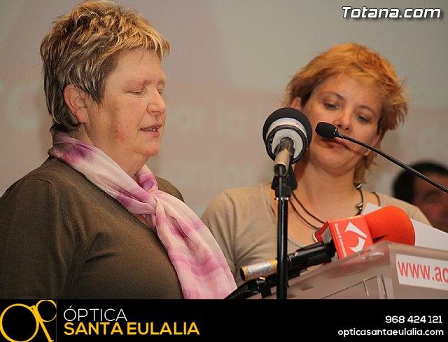 Presentación candidatura IU-Verdes Totana 2011 - 41