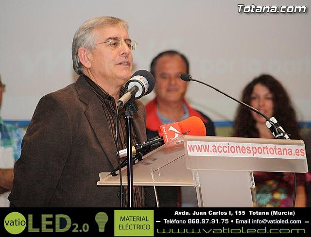 Presentación candidatura IU-Verdes Totana 2011 - 62