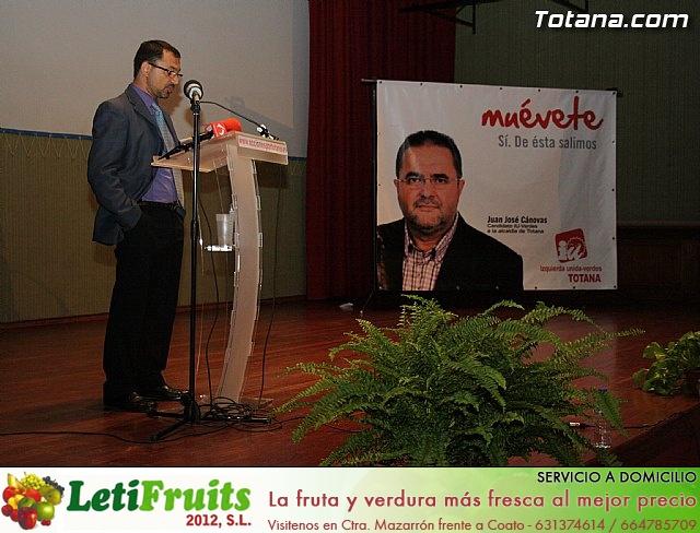 Presentación candidatura IU-Verdes Totana 2011 - 67