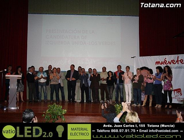 Presentación candidatura IU-Verdes Totana 2011 - 73