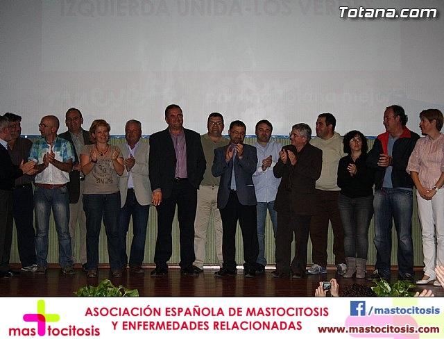 Presentación candidatura IU-Verdes Totana 2011 - 75