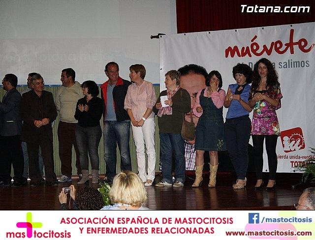 Presentación candidatura IU-Verdes Totana 2011 - 76