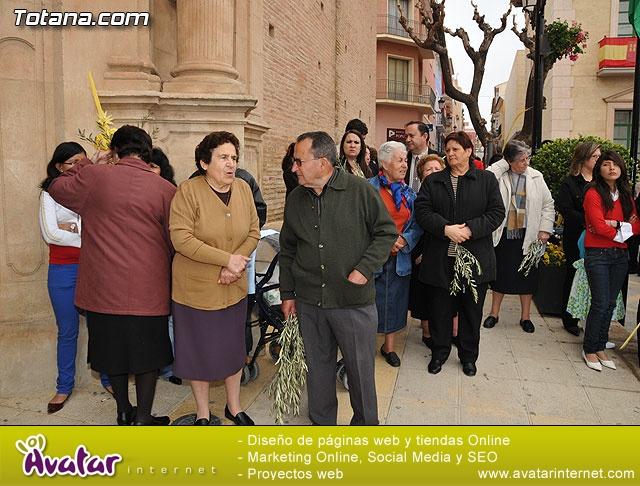 Domingo de Ramos. Parroquia de Santiago. Semana Santa 2009   - 7