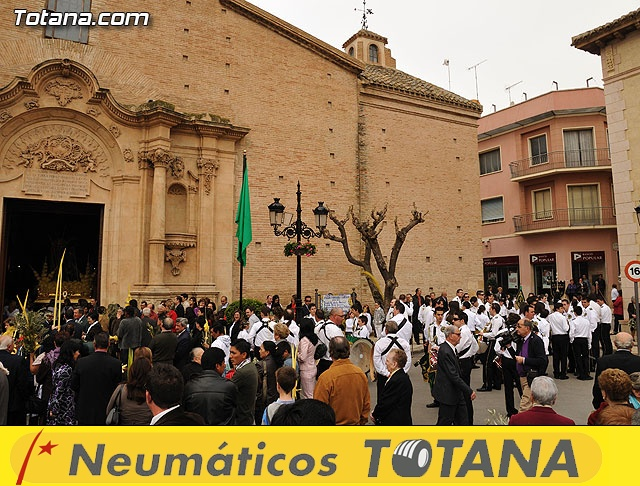 Domingo de Ramos. Parroquia de Santiago. Semana Santa 2009   - 15