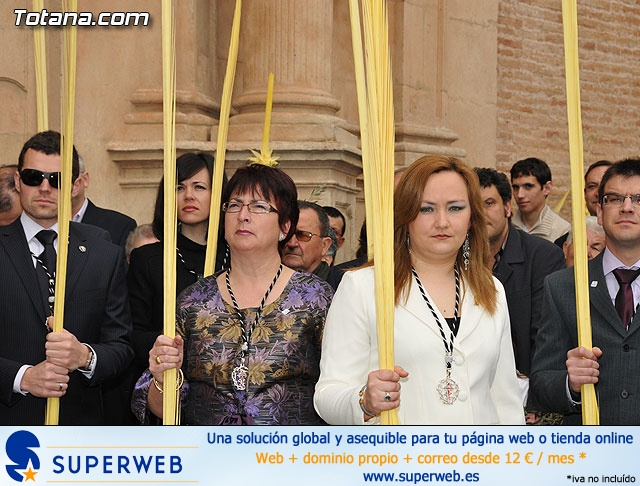 Domingo de Ramos. Parroquia de Santiago. Semana Santa 2009   - 32