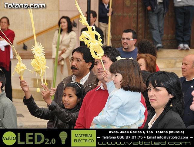 Domingo de Ramos. Parroquia de Santiago. Semana Santa 2009   - 38