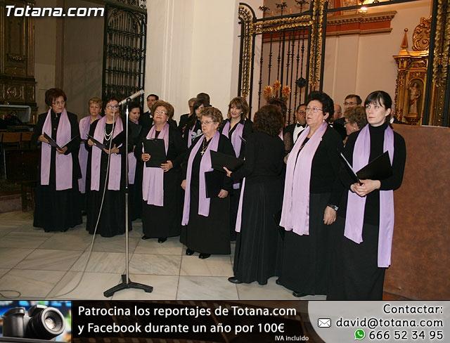 Concierto de Música Sacra e imposición del Escudo de Oro a la Coral Santiago de Totana - 1