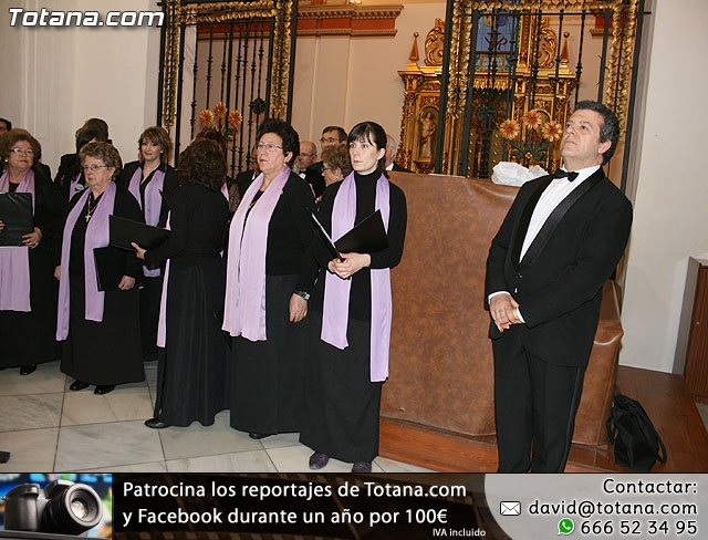 Concierto de Música Sacra e imposición del Escudo de Oro a la Coral Santiago de Totana - 2